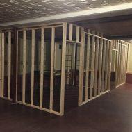 SCC Progress: Framing Temporary Classrooms