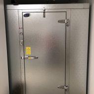 SCC Progress: Walkin Cooler/Freezer gets installed