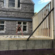 SCC Progress: Kitchen Framing starts